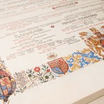 Royal Family Tree Original Vellum
